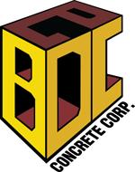 BDCE Concrete Logo